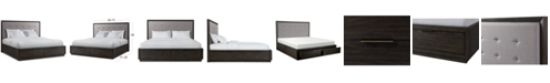 Furniture Morgan Storage California King Bed, Created for Macy's