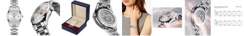 Longines Women's Swiss Conquest Classic Stainless Steel Bracelet Watch 34mm