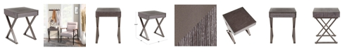 Lumisource Industrial Luster Side Table
