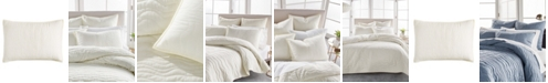 DKNY Cotton Voile Quilted Standard Sham