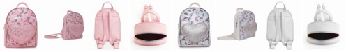 OMG! Accessories Toddler, Little and Big Kids Lil Miss Gwen Sweet Treats Print Mini Backpack with Heart Pocket