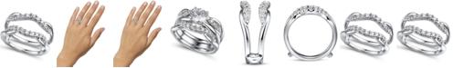 Macy's Diamond (1/2 ct. t.w.) Ring Enhancer in 14K White Gold