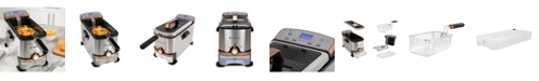 Brookstone 3.2 Qt. Digital Deep Fryer with Oil Filtration