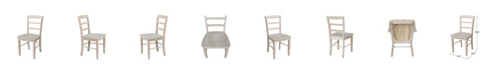 International Concepts Madrid Chairs, Set of 2