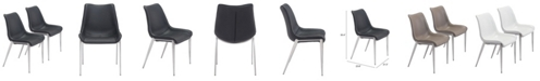 Zuo Magnus Dining Chair, Set of 2