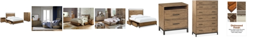 Furniture Gatlin Storage Full Platform Bedroom Furniture, 3-Pc. Set (Full Bed, Chest & Nightstand), Created for Macy's