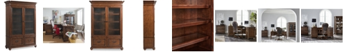 Furniture Clinton Hill Cherry Home Office Door Bookcase, Created for Macy's