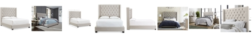 Furniture Monroe Upholstered California King Bed, Created for Macy's