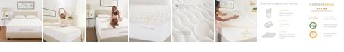 "CopperFresh CopperFresh 4"" Wave Foam Mattress Topper Collection"