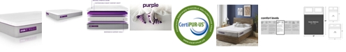 "Purple .3 Hybrid Premier 12"" Mattress - Queen"