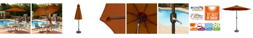 Blue Wave Mirage 9-Ft Octagonal Market Umbrella With Olefin Canopy
