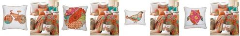 Levtex Home Zanzibar Flower Pillow