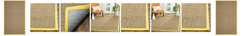 Safavieh Natural Fiber Natural and Gold 5' x 8' Sisal Weave Area Rug