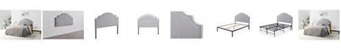 Gold Sparrow Jocelyn Adjustable Full/Queen Upholstered Headboard
