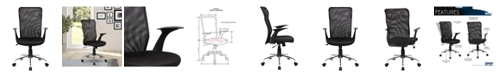 RTA Products Techni Mobili Back Assistant Office Chair