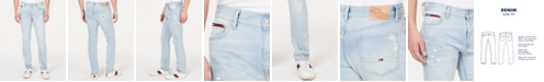 Tommy Hilfiger Men's Slim-Fit Stretch Distressed Jeans