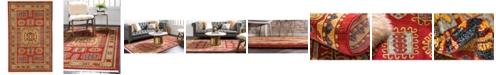 Bridgeport Home Harik Har6 Red 5' x 8' Area Rug