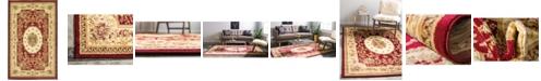 "Bridgeport Home Belvoir Blv4 Red 3' 3"" x 5' 3"" Area Rug"