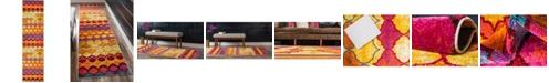"""Bridgeport Home Pari Par1 Multi 2' 7"""" x 10' Runner Area Rug"""