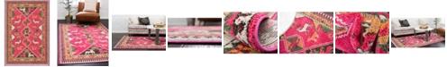 Bridgeport Home CLOSEOUT! Arcata Arc7 Pink 4' x 6' Area Rug