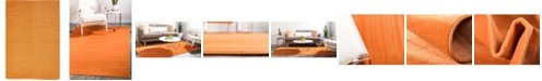 Bridgeport Home Axbridge Axb3 Orange 4' x 6' Area Rug