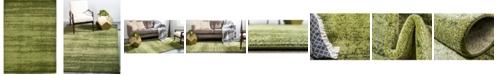 Bridgeport Home Lyon Lyo3 Green 9' x 12' Area Rug