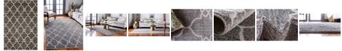 Bridgeport Home Pashio Pas2 Gray 4' x 6' Area Rug