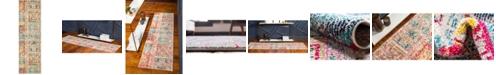 "Bridgeport Home Newhedge Nhg4 Multi 2' x 6' 7"" Runner Area Rug"