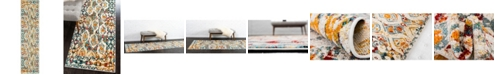 """Bridgeport Home Mishti Mis5 Multi 2' 7"""" x 10' Runner Area Rug"""