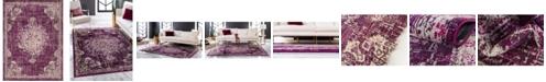 Bridgeport Home Lorem Lor1 Purple 9' x 12' Area Rug