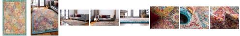 """Bridgeport Home Lorem Lor2 Multi 5' 3"""" x 7' 7"""" Area Rug"""