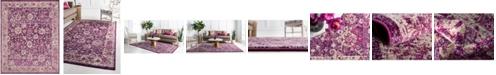 Bridgeport Home Lorem Lor3 Purple 8' x 10' Area Rug