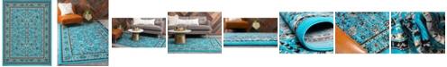 Bridgeport Home Arnav Arn1 Turquoise 9' x 12' Area Rug