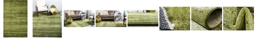 Bridgeport Home Lyon Lyo3 Green 5' x 8' Area Rug