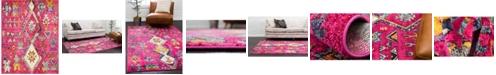Bridgeport Home CLOSEOUT! Arcata Arc1 Pink 8' x 10' Area Rug