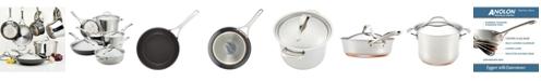 Anolon Nouvelle Copper Mixed Metals 11-Pc Cookware Set