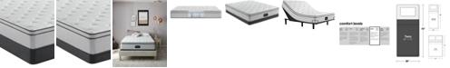 """Beautyrest BR800 12"""" Plush Euro Top Mattress Set- Twin"""