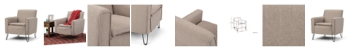 Simpli Home Warren Accent Chair, Quick Ship