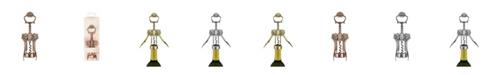 Twine Brushed Brass Filigree Winged Wine Corkscrew