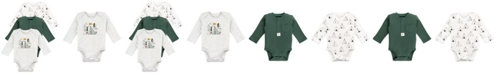 Mac & Moon Baby Boy 3-Pack Long Sleeve Bodysuits