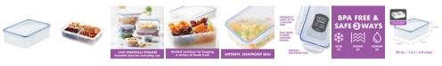Lock n Lock Easy Essentials Divided 54-Oz. Food Storage Container