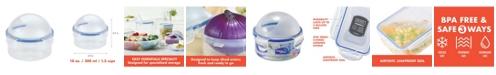 Lock n Lock Easy Essentials Specialty 10-Oz. Onion Container