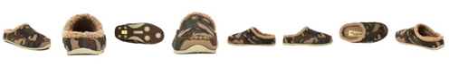 DEER STAGS Little and Big Boys Slipperooz Lil Nordic S.U.P.R.O. Sock Cushioned Indoor Outdoor Clog Slipper