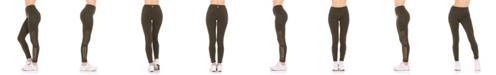 Therapy Side Cutout and Side Pocket High Rise Leggings