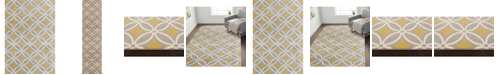 Main Street Rugs Home Haven Hav9104 Gray/Yellow Area Rug Collection