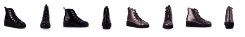 Wanted Hunter Alpine Combat Bootie with Lace-Up Detail