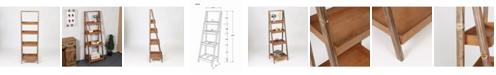 "Luxen Home 60"" Etagere Bookcase"