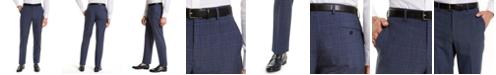 Lauren Ralph Lauren Men's Classic-Fit UltraFlex Navy Windowpane Suit Separate Pants