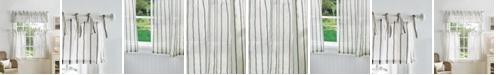 Martha Stewart Collection Martha Stewart Laguna Stripe Valance & Tiers