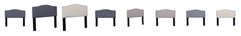 Us Pride Furniture Mudd Upholstered Panel Headboard